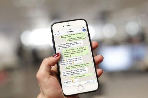 Una nueva actualización de Whatsapp permite cambiar el estilo de los mensajes de texto