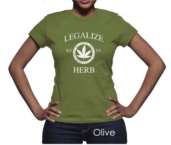 Kentucky Legalize Herb Women's T-Shirt