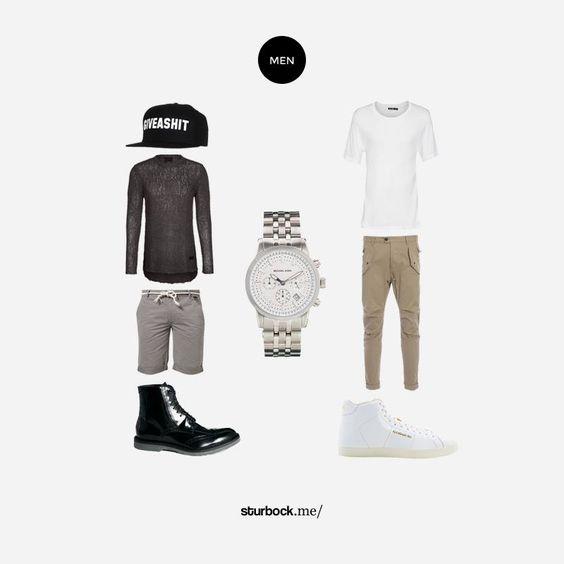 Giveashit: Kurze Hose und Boots. Hier entdecken und shoppen: http://www.sturbock.me/guide/
