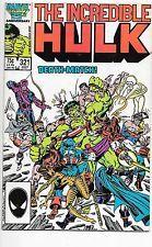 Incredible Hulk #321 Marvel Comics VF