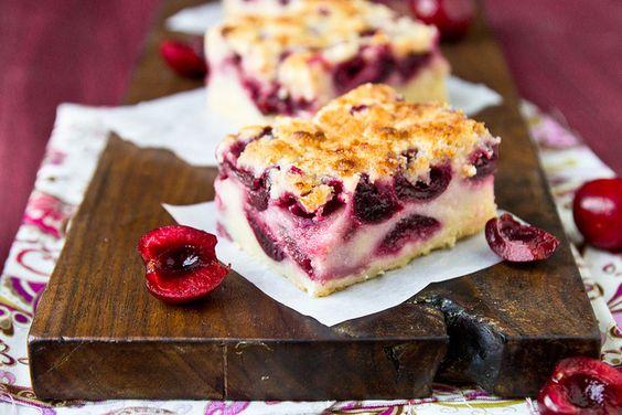 Cherry Pie Bars by foodiebride, via Flickr