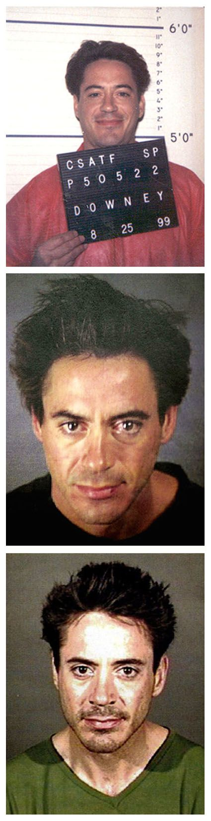 Robert Downey Jr. // I don't even care. Mugshots for days. He. Is. BEAUTIFUL.