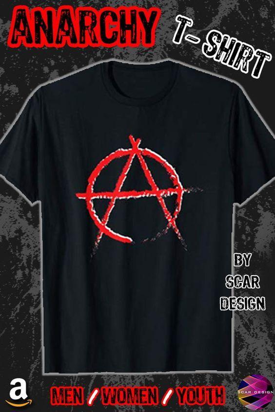 Anarchy Symbol T Shirt Shirts Anarchy Shirts Cool Tee Shirts