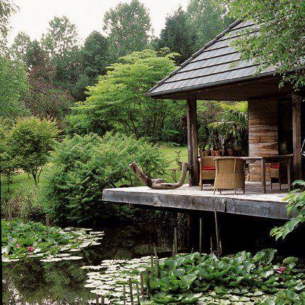Un jardin à la japonaise