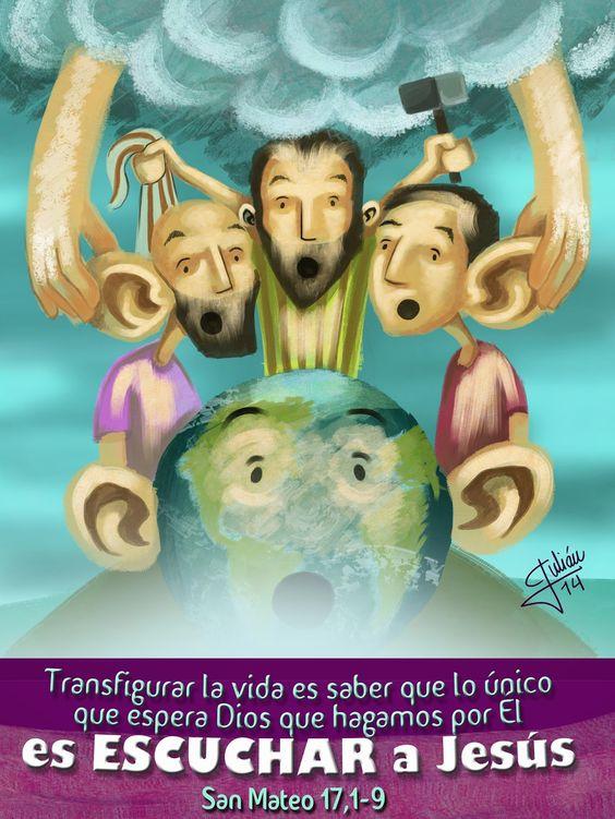 Julián García Arte: Domingo 2 de Cuaresma A: