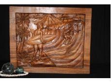 "Storyboard Oceanic Art titled: ""Surf Scene, Waimea"""