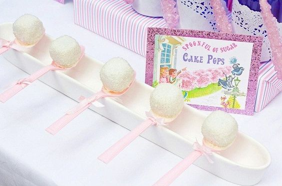 Pop cake na colher