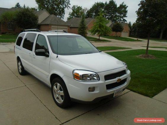 Car For Sale 2008 Chevrolet Uplander
