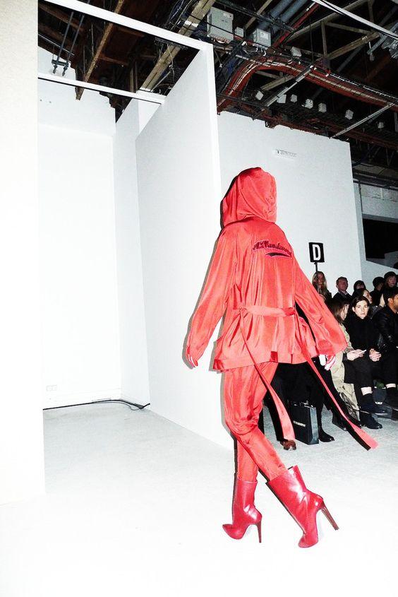 AF Vandevorst Fall 2014 Paris Fashion Week by carolinedaily.com