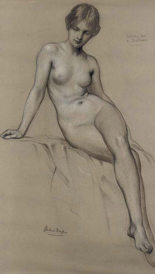 Study for a Bather - Herbert Draper