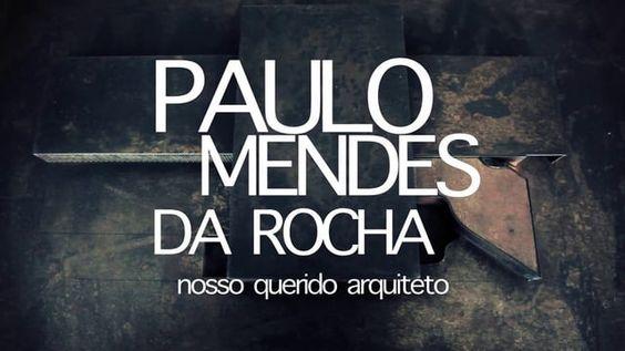 Brasil / 2013 / Doc / 20 min  O Paulo Mendes da Rocha é um dos arquitetos mais respeitados do Brasil e do mundo, o único brasileiro além do Niemeyer a ganhar o prêmio Pritzker de arquitetura, e responsável por diversas obras importantes em São Paulo, como a projeção do MUBE e do Museu da Língua Portuguesa, a reforma da Pinacoteca e da Estação da Luz. Ele faz uma reflexão bastante única sobre arquitetura, centros urbanos, transporte público e educação.  IMDB: http://www.imdb.com/title/tt3...