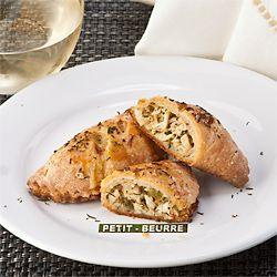 Got turkey? Using Keller's C4C Gluten-Free Flour make Little Turkey Hand Pies. They go together quickly and taste great.