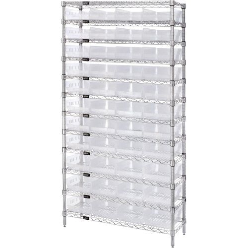 #Storage Genuine #Quantum modular wire systems offer a unique combination of shelf and post sizes in a variety of finishes to compliment any application. The spl...
