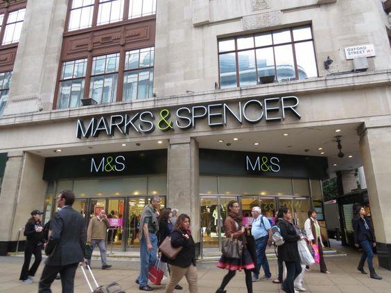 Londres: Lojas de departamento: Marks & Spencer | Mapa de Londres