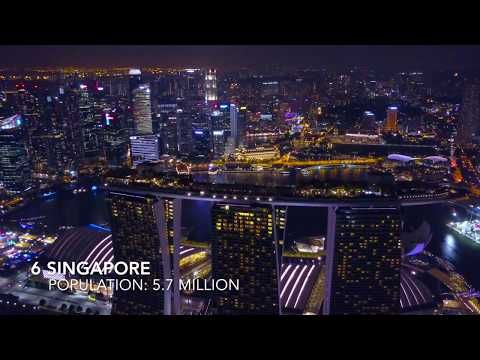 The Largest Cities In Southeast Asia 2018 Youtube Southeast Asia Southeast City