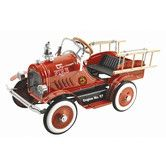 Found it at Wayfair - Deluxe Fire Truck Pedal Car
