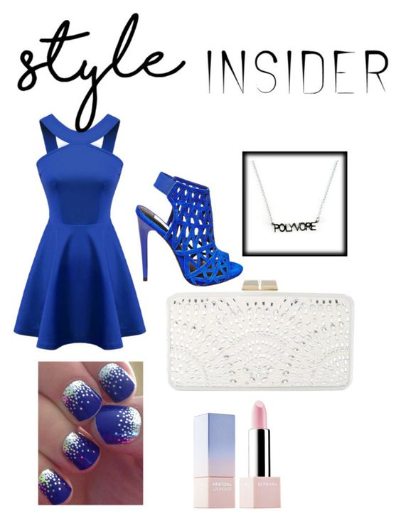 """""""Blue Style Insider"""" by forever-designer ❤ liked on Polyvore featuring Chicnova Fashion, BCBGMAXAZRIA, Steve Madden, Sephora Collection, Blue, contestentry and styleinsider"""