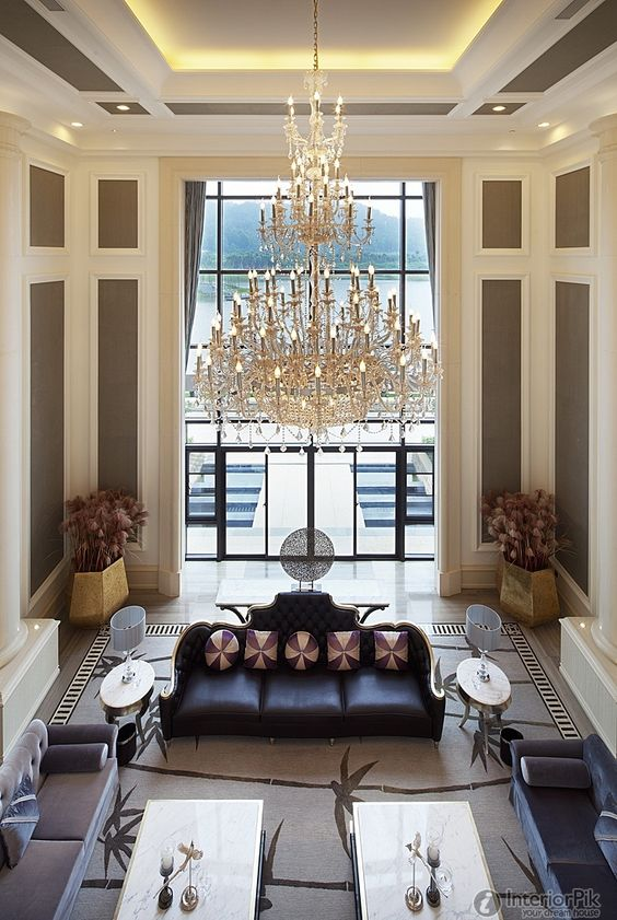 Pinterest the world s catalog of ideas - Living room ideas with high ceilings ...