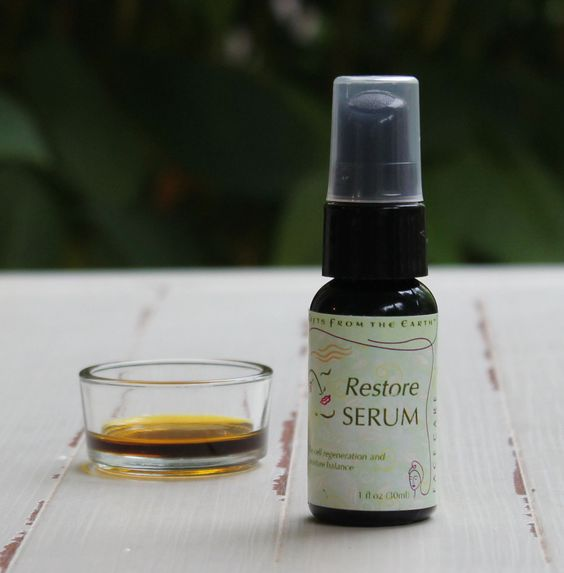 Restore Serum - Gifts From the Earth The wishes and desires of the heart and the gentleness we come to understand as we age...wisdom does no't always need to show on your face. Restore your own youthful glow.