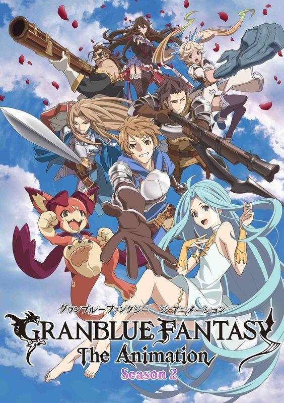 Granblue Fantasy Season 2 Get Ready For An Adventure Anime Animation Anime English