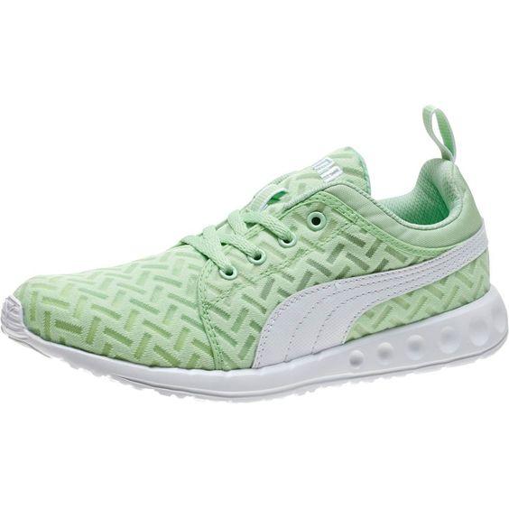 Puma Carson Runner Ladies Running Shoes - Patina Green