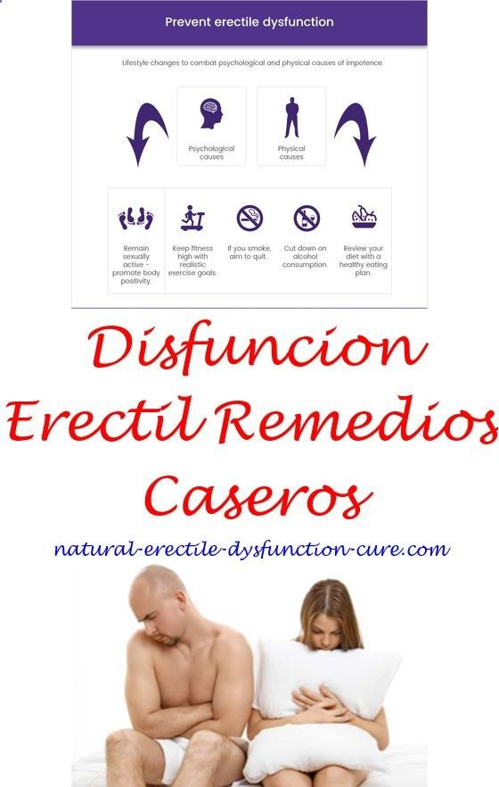 curas naturales para la disfunción eréctil libre