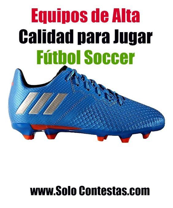 Juegan tus niños Fútbol Soccer? Mira las herramientas de buena calidad para jugar esta temporada. #zapatosparafutbolsoccer