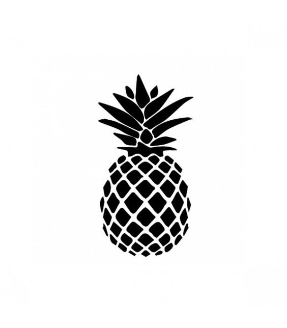 Tampon gomme naturelle -  Ananas