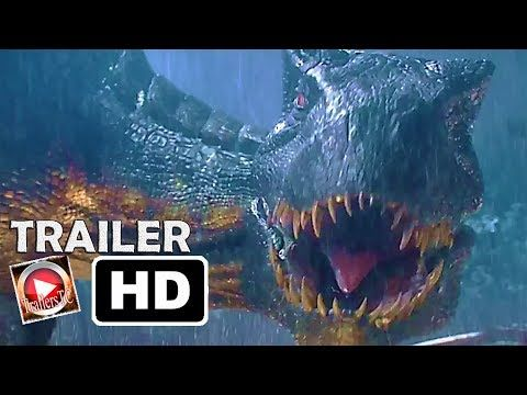 Jurassic World 2 El Reino Caído Trailer 2 Español 2018 Youtube Jurassic World Tráiler Español