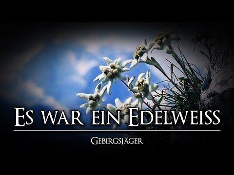 Es War Ein Edelweiss Beste Version Gebirgsjagerlied Liedtext Youtube Lied Liedtext Soldatenlieder