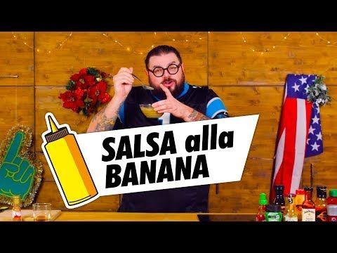 Salsa Alla Banana Ho Fame Mocho Cucina Da Uomini Youtube Youtube Banana Salsa