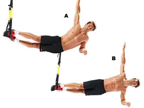 exercices de musculation avec le trx ab flex plaque. Black Bedroom Furniture Sets. Home Design Ideas