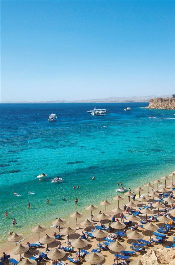 Sharm el-Sheikh, Egypt beach