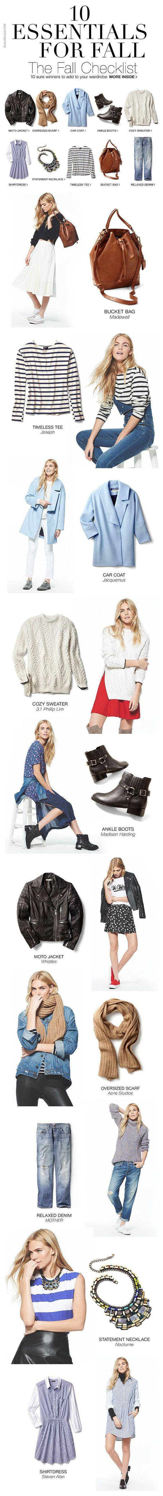 (42) Shopbop – 10 Essentials for Fall | Style my wardrobe: Autumn/Winter |…