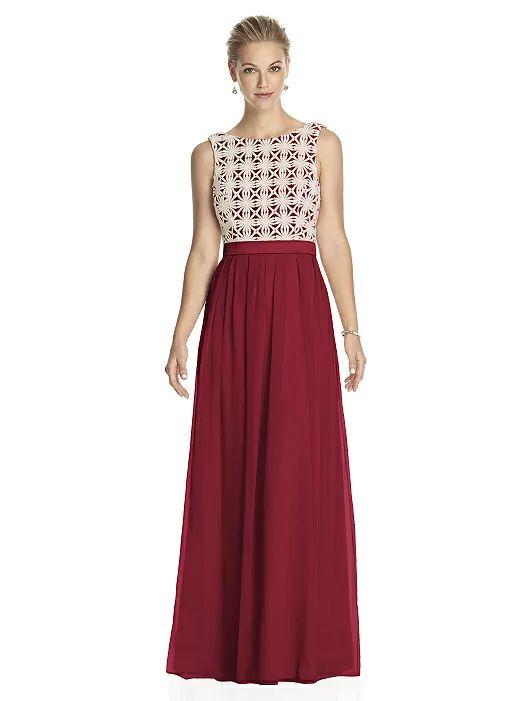 Lela Rose Bridesmaid Dress LR182 (shown in claret)