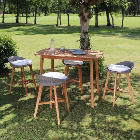 Best Salon De Jardin Teck Ou Acacia Contemporary - House ...