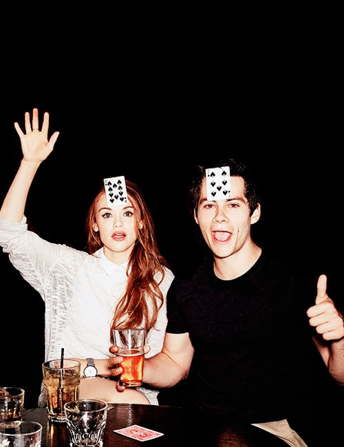 Holland Roden & Dylan O'Brien /lnemnyi/lilllyy66/ Find more inspiration here: http://weheartit.com/nemenyilili: