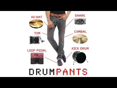 DrumPants: An Entire Band in Your Pocket