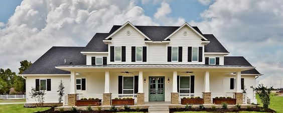 Dream house! Too big but maybe could modify down. No floor plan with the link. Custom Farmhouse | Richmond Signature Homes