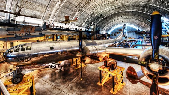WOW! HDR image of Enola Gay at Steven. F. Udvary Hazy Center taken by William Beem  Photo © Copyright 2012 by William Beem from his blog: http://williambeem.com/enola-gay/