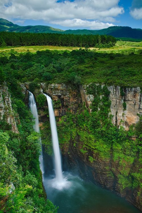 Mac-Mac Falls, Mpumalanga, South Africa. I've been her on various vacations in the past. This is one of many majestic waterfalls in the Sabie region. Truelly spectacular place that beckons you to go back time and time again.