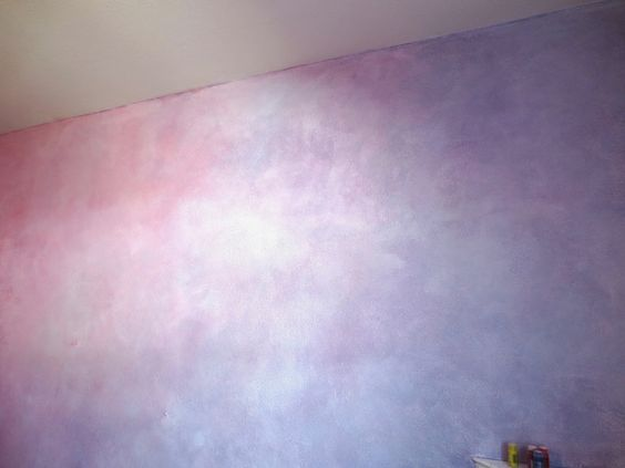 Lazure Painting How To, lazure tutorial, Leaving the Ivory Tower, waldorf walls, The Rainbow Room