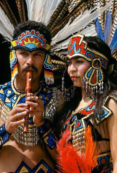 Dancewear costume aztec indian carnival wear