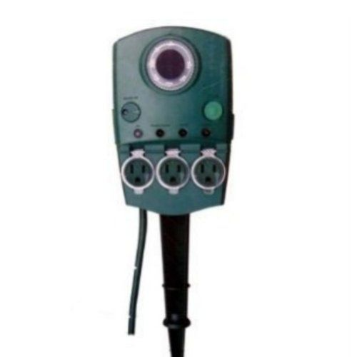 Landscape Lighting Supply: Holiday Time Multi-function Yard Stake With Timer Outdoor