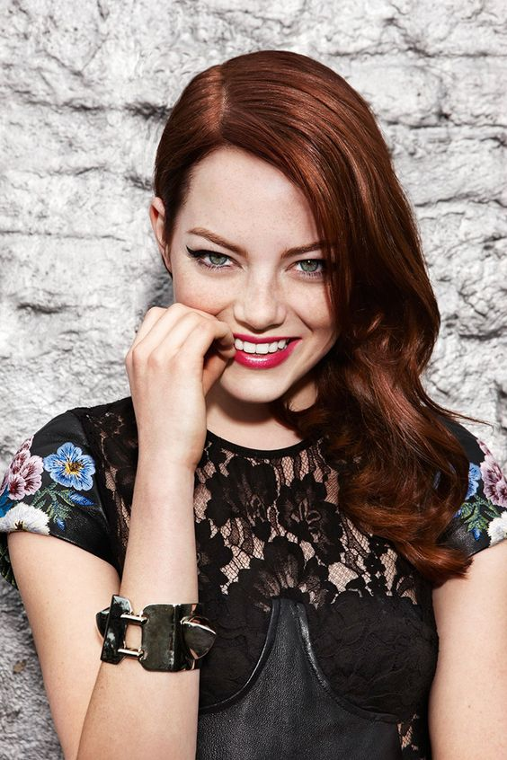Emma Stone - gorgeous but why does she keep dying her hair blonde?