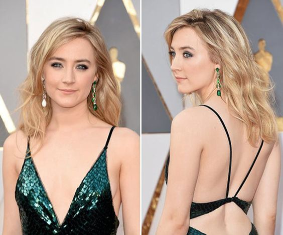 Pearls Wow at the 2016 Academy Awards