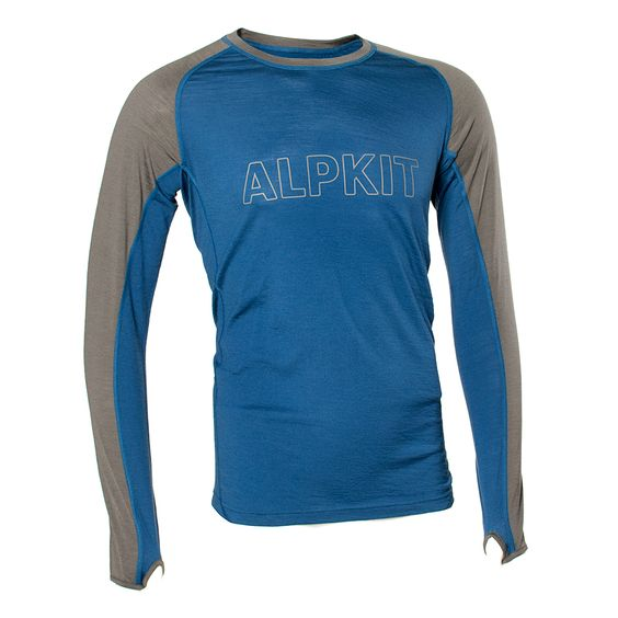 Kepler Long Sleeve [Mens] - Alpkit merino wool