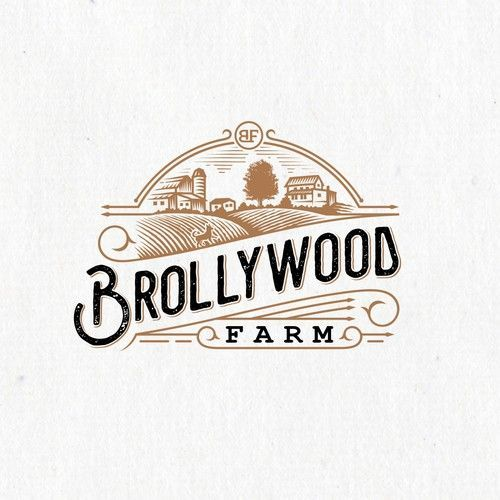 Logo Design Inspiration Your Logo Will Often Be The First Impression You Make On Customers So You Alwa In 2020 Farm Logo Design Vintage Logo Design Retro Logo Design