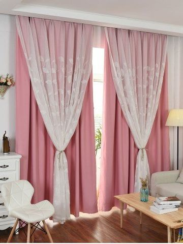 Girls Bedroom Curtains, Double Curtains For Living Room