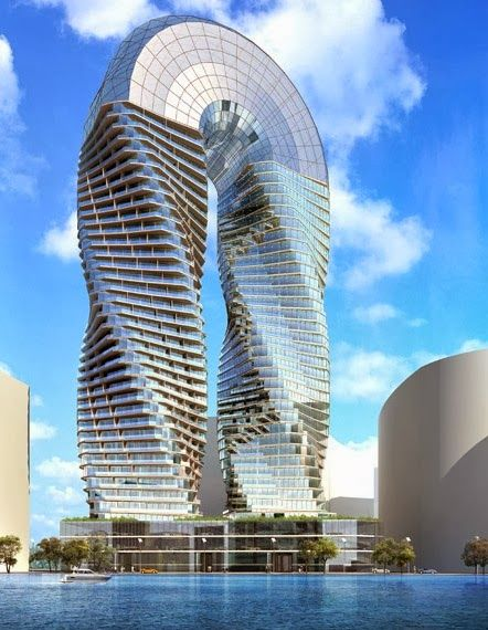 Dna abu dhabi and towers on pinterest for Architectural design companies in abu dhabi
